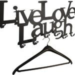 Perchero live laugh love