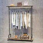 Perchero ropa industrial