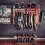 Perchero ropa moto
